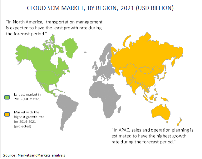 Cloud Supply Chain Management Market by Solution & Region - Global