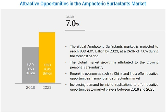 Amphoteric Surfactants Market