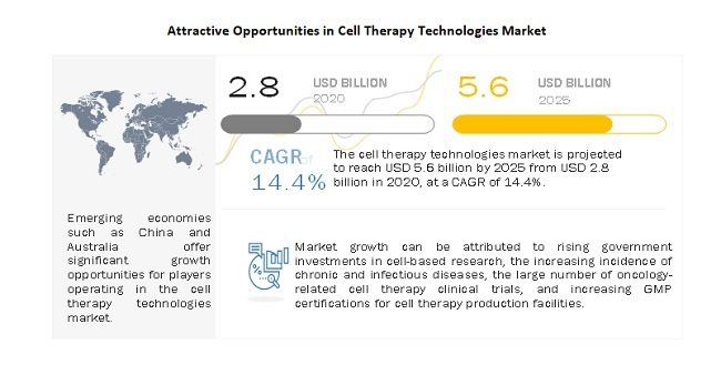 Attractive Opportunities in Cell Therapy Technologies Market