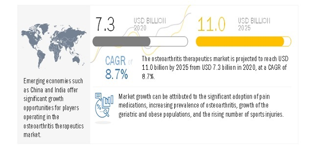 Attractive Opportunities in Osteoarthritis Therapeutics Market