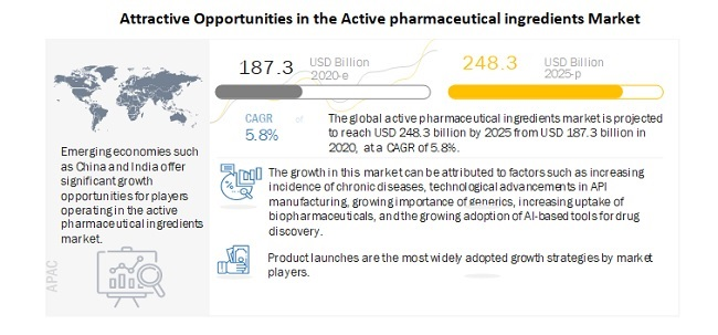 Attractive Opportunities in the Active pharmaceutical ingredients Market