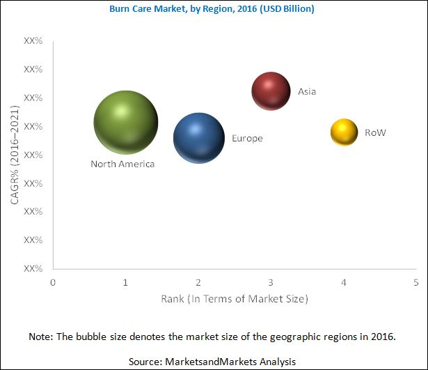 Burn Care Market - By Region 2021