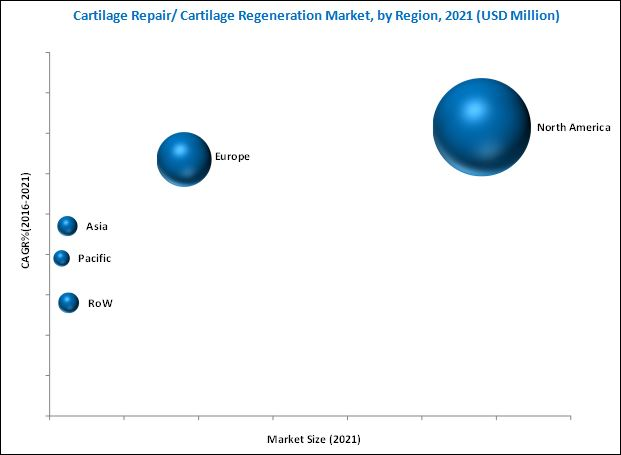 Cartilage Regeneration Market - By Region 2021
