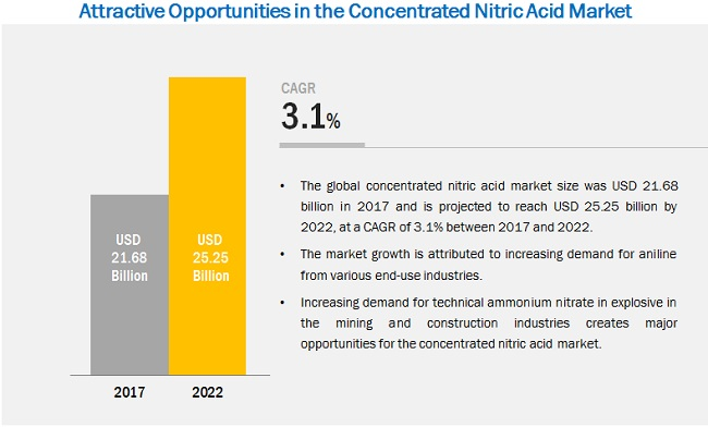Concentrated Nitric Acid Market by Type & Application - Global