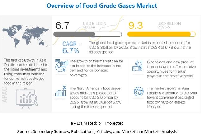 Food-Grade Gases Market