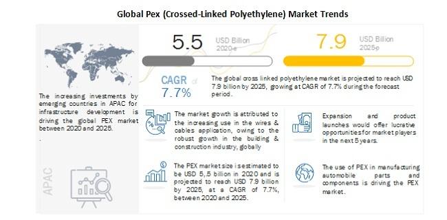 Global Pex (Crossed-Linked Polyethylene) Market Trends