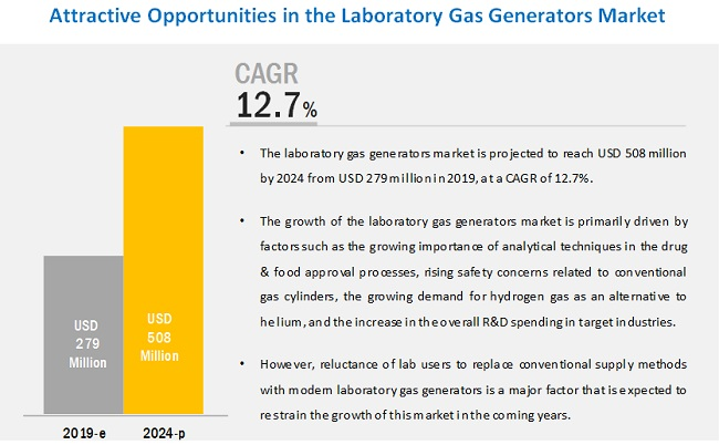 Laboratory Gas Generators Market - Global Forecast to 2024