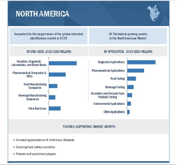 Microbial Identification Market By Region