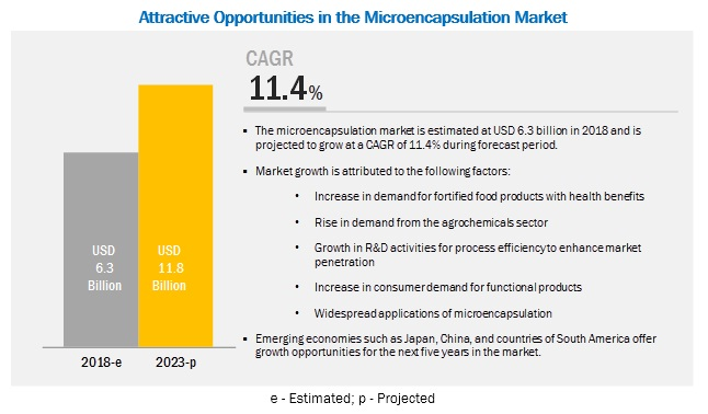 Microencapsulation Market by Technology, Core Material