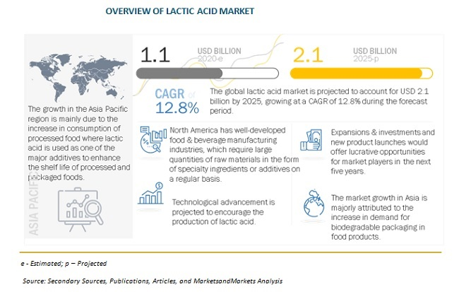 Overview Of Lactic Acid Market