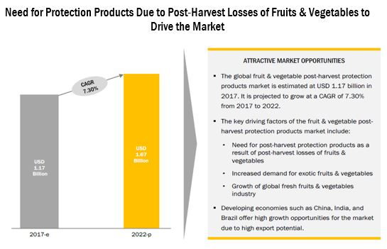 Post-harvest Treatment Market for Fruits and Vegetables - Forecast
