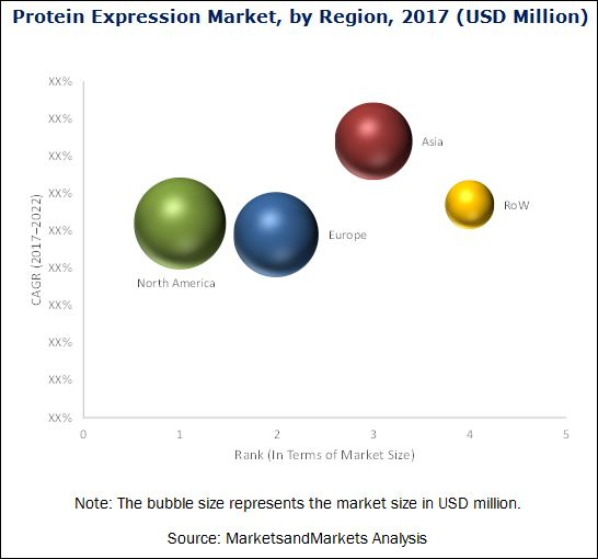 Protein Expression Market by Region