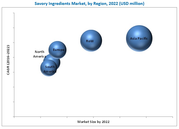 Savory Ingredients Market