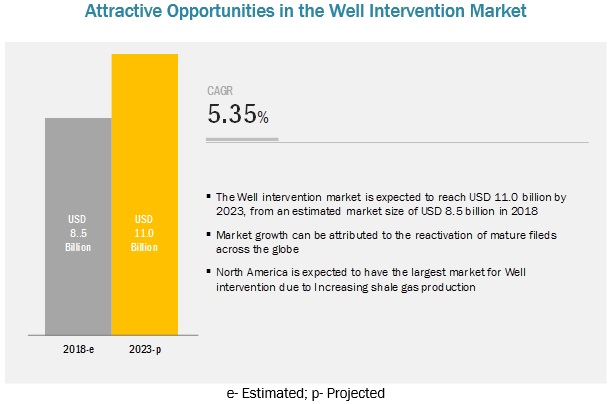 well intervention market by services type application region